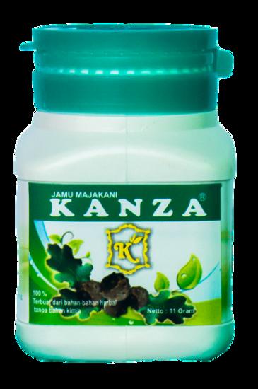 kanza botol biru