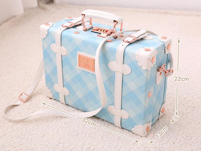 Hand Bag Blue Line (UN09)