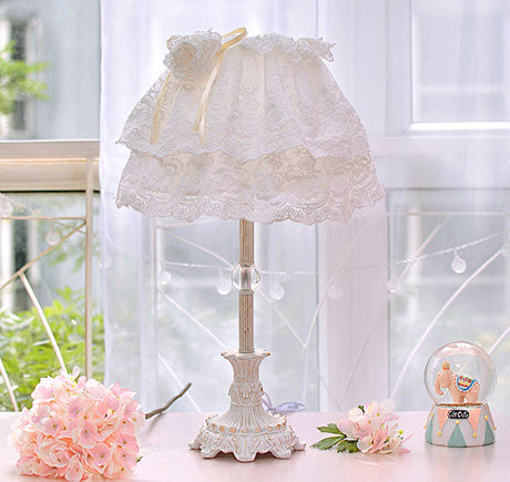 Rustic Queen Table lamp (PO88)