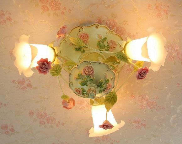 Romantic Warm Ceilling Lamp (PO135)