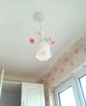 Rose Bulb Hanging Lamp