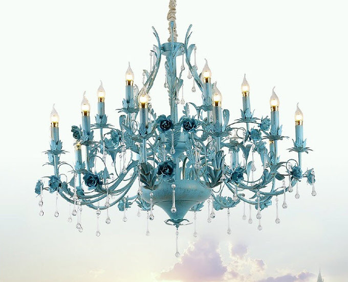 Blue Marine Chandelier (PO104)