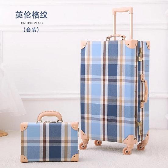 British Plaid Luggage (UN06)