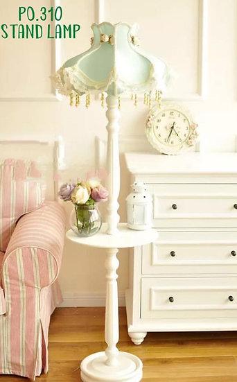 Table lamp green love (PO310)