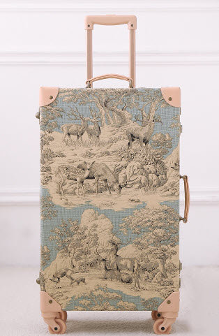Chinese Painting Luggage