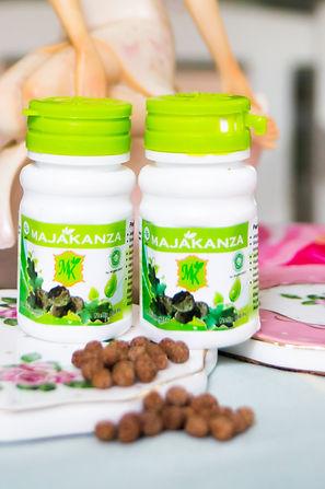 Majakani Kanza botol hijau