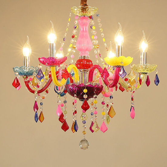 Colorful Chandelier (PO228)