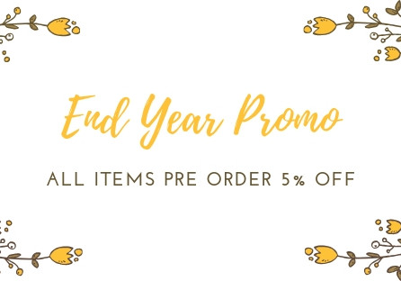 Clearance End Year SALE Pre Order