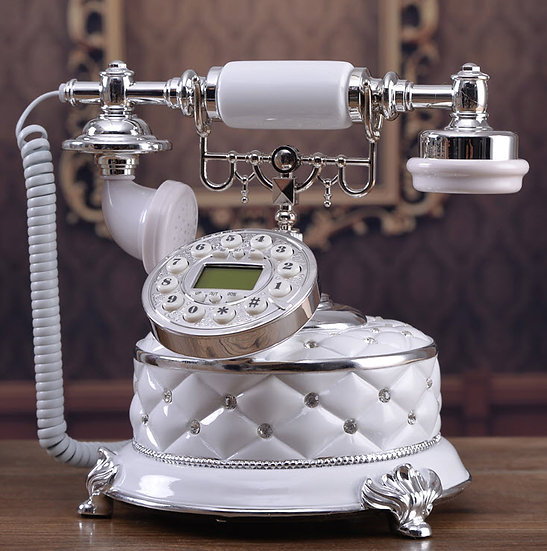 Vintage Chic Telephone (TO12)