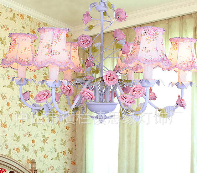 Lily Pink Chandelier (PO03)