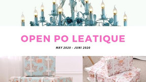 Open Pre Order Leatique May 2020