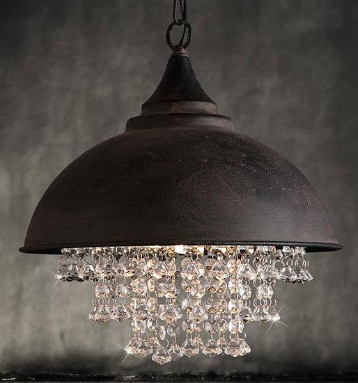 Black Bowl Lamp (PO334)