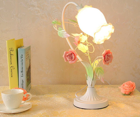 Baby Rose Table Lamp (PO73)