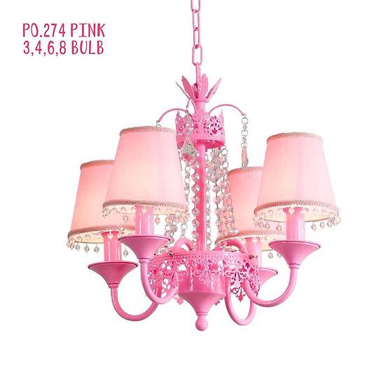 Shabby Chic Lamp Monroe (PO274)