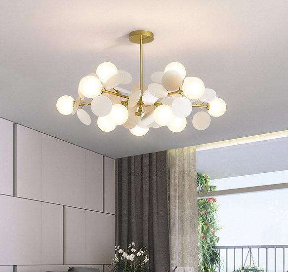 Boldy White Lamp (PO522)