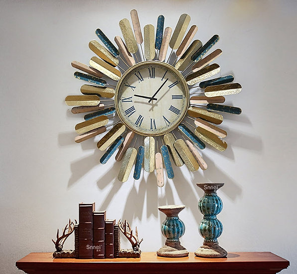 Rustic Wall Clock (PT72)