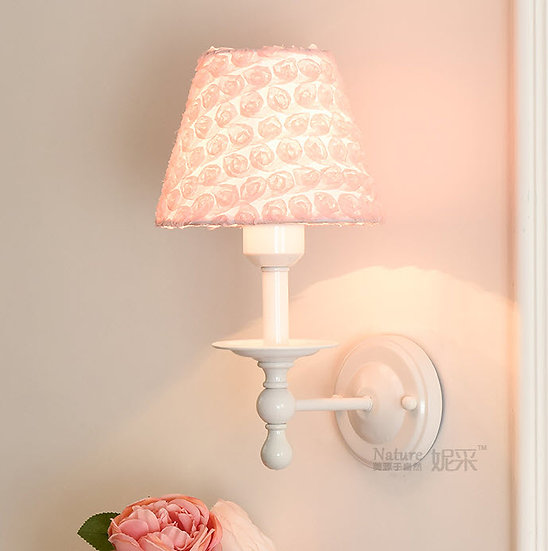 Lace Rose Wall Lamp (PO63)