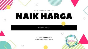 Naik Harga April 2020