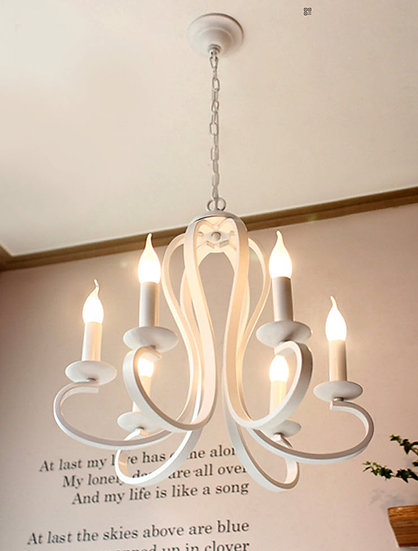 Lily Iron Chandelier