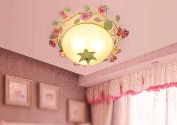 Rose Ceilling Lamp