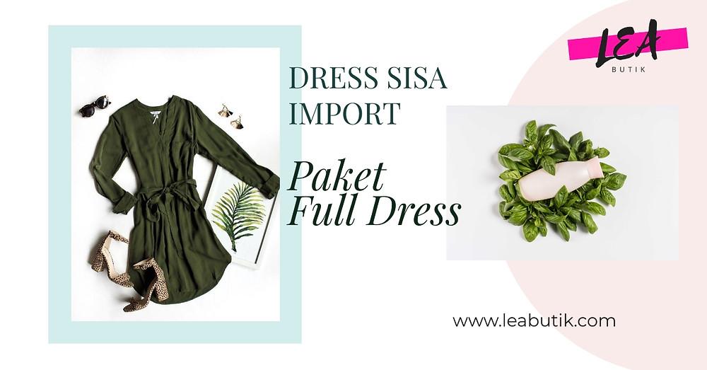 Jual Baju Sisa Import Full Dress