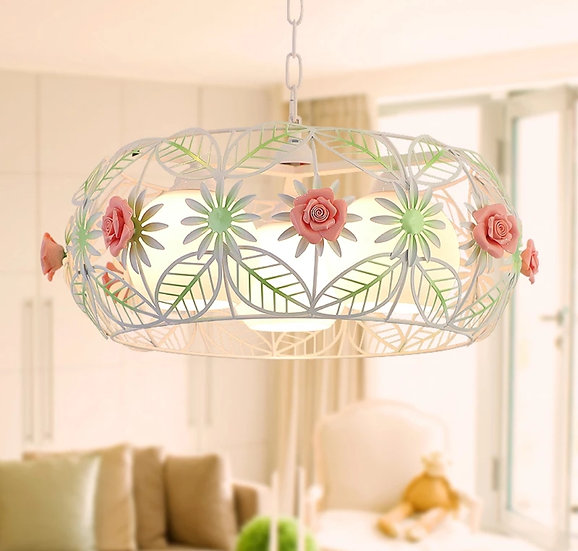 Hanging lamp circle love (PO298)