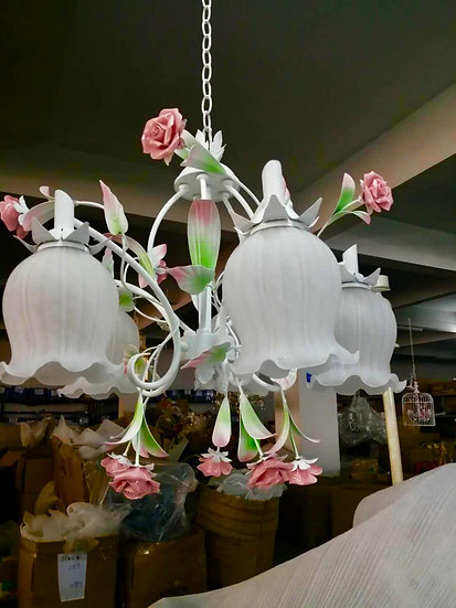Rose Down Chandelier