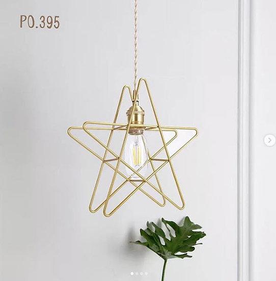 Stars Gold Lamp (PO395)
