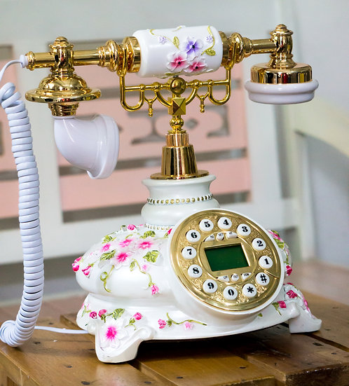 Vintage Rose Phone (TO20)