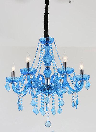Lampu Gantung Chandelier Blue love (PO273)