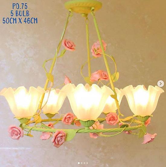 Fresh Rose Lamp