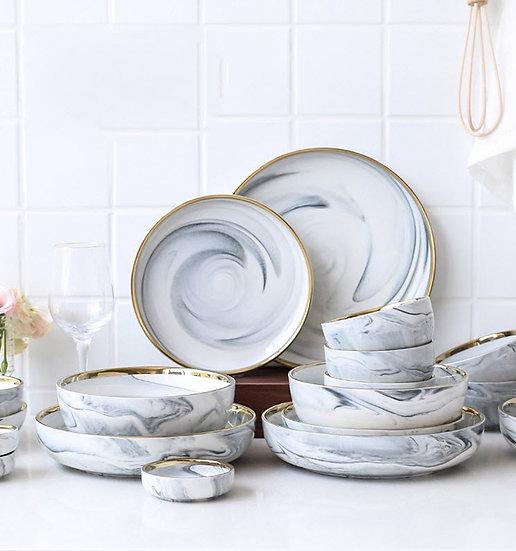 Marble Style Tableware (PL02)