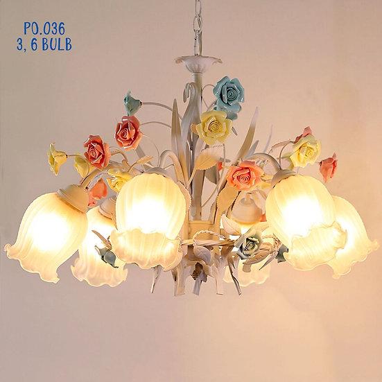 Shabby Chic Ceilling Lamp (PO36)