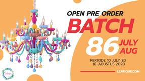 Open PO Batch 86