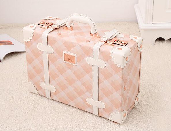 Hand Bag Peach Line (UN10)