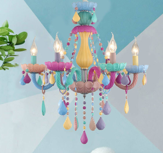 Shabby Chic Chandelier C (Candy C)