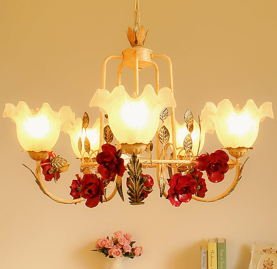 Red Rose Chandelier (PO18)