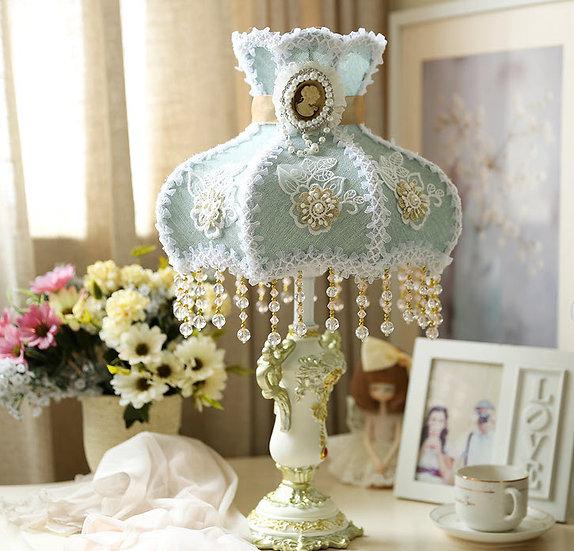 Blue Vanessa Table Lamp (PO328)