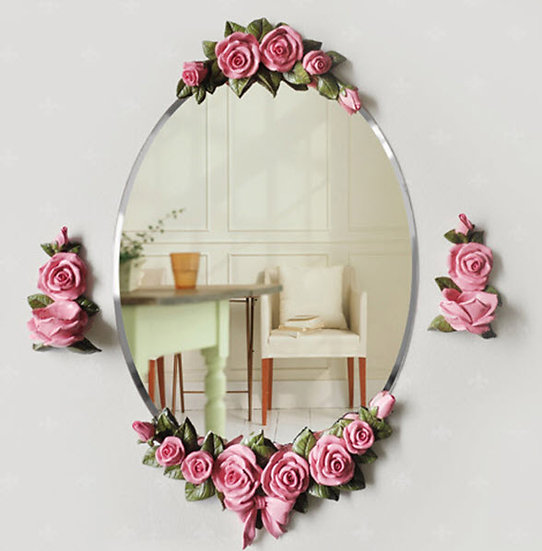 Rose Oval Mirror (MO01)