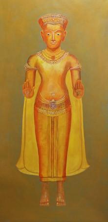 """Ruth Pasquine, """"Thai Buddha"""""""