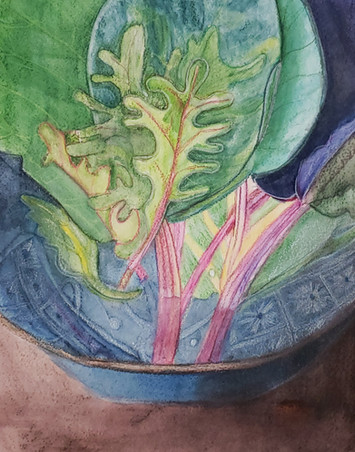 """Cathy Wester, """"Cabbage Leaves 3"""""""