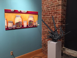 ONE YEAR DOWN Exhibition at New Deal Gallery and Studios