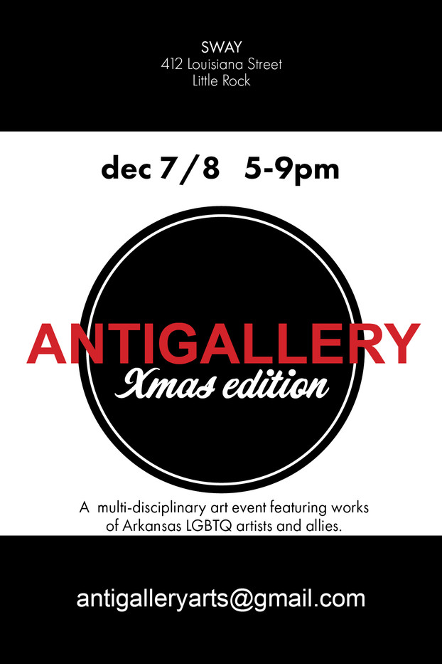 NEWS: ANTIGALLERY Christmas Show and Sale coming up Dec. 7th and 8th.