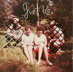"""""""Just Us,' Embroidery on Found Photograph"""