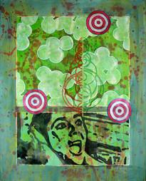 """Tom Richard, """"Danger, Danger: Staphylococcus, Targets, Chart Arcs, Liz"""""""