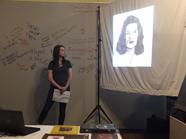 NEWS: Presentation of the embroid(HER) at the first ever Arkansas PechaKucha Night