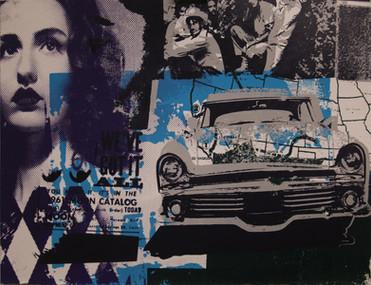 """Steve Adair, """"Roadtripper."""" Artist Proof 1/1"""