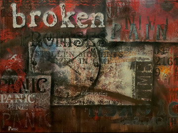 """Erika Barnett, """"Broken Promises"""""""