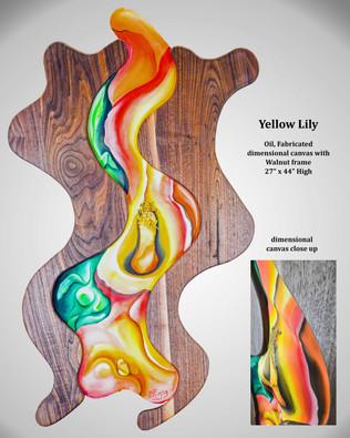 "Patrick Fleming, ""Yellow Lily"""