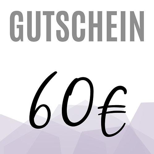 Gutschein 60€